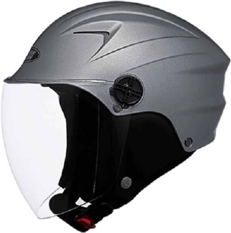 Studds Dude Motorbike Helmet(Matt Gun Grey)