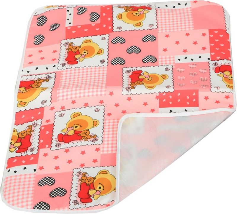 Kuber Industries Cotton Diaper Changing Mat(Multicolor, Free)