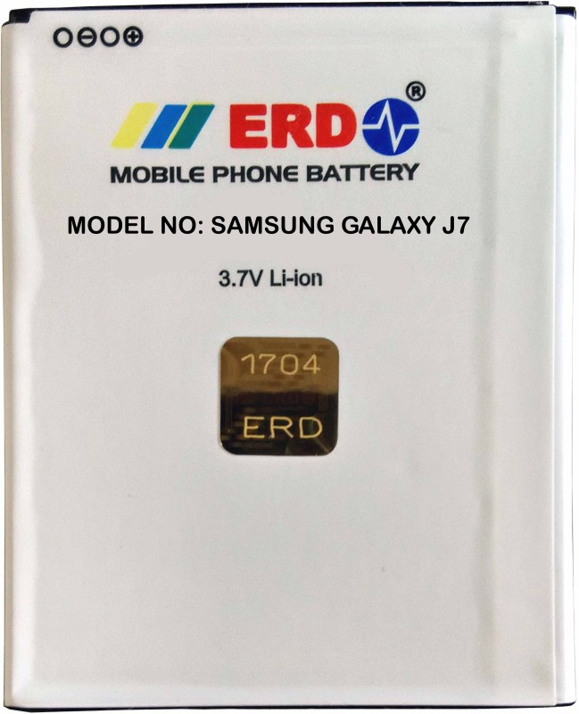 ERD Mobile Battery For Samsung Galaxy J7