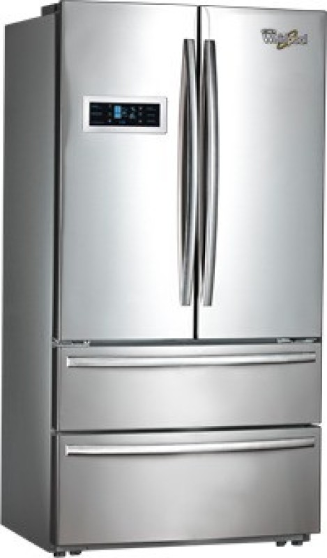 Whirlpool 570 L Frost Free French Door Bottom Mount Refrigerator(Silver, FDBM)