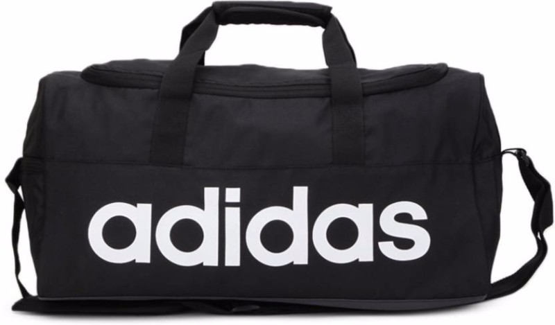 Adidas Lin Per Lb S Travel Duffel Bag(Black)
