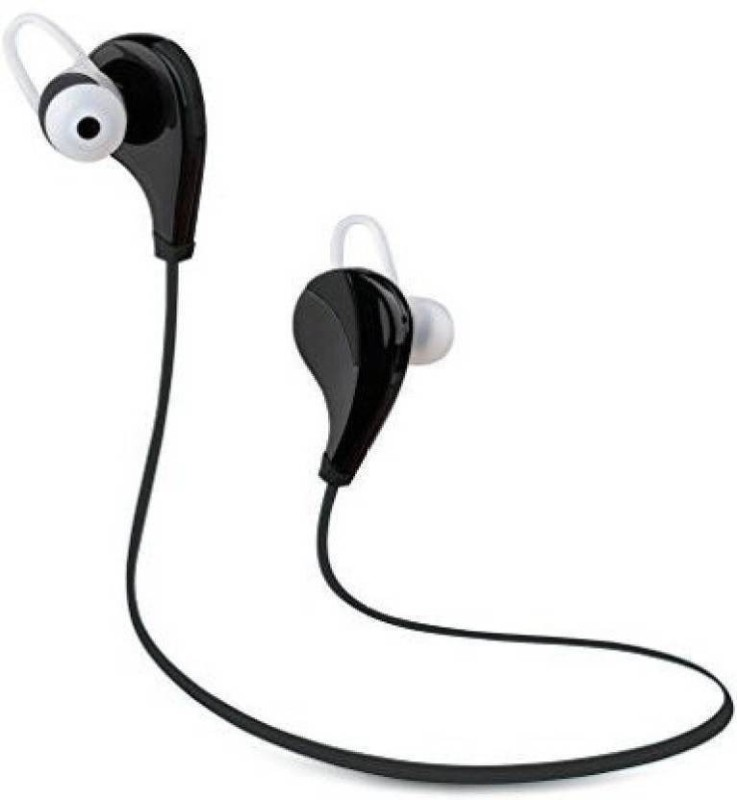 Defloc QY7-06 Wireless bluetooth Headphone(Black, HF-06, In the Ear)