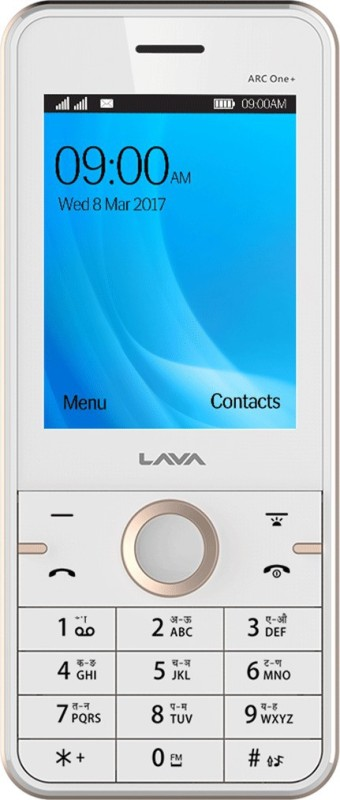 Lava ARC One Plus(White Gold /Gold) image