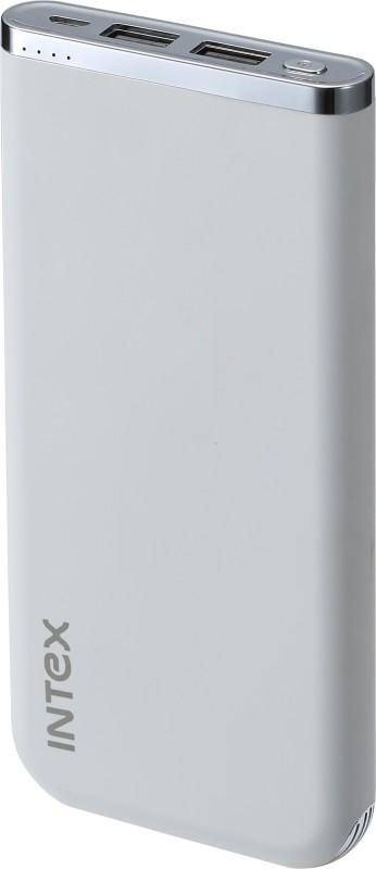 Intex 10000 mAh Power Bank(White, Lithium Polymer)