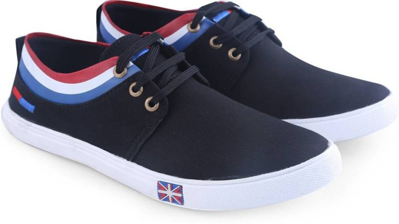 Clerk Boys Lace Sneakers(Black)