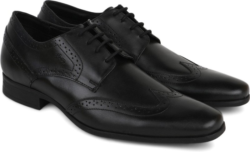 Carlton London Mr. CL Genuine Leather Lace Up