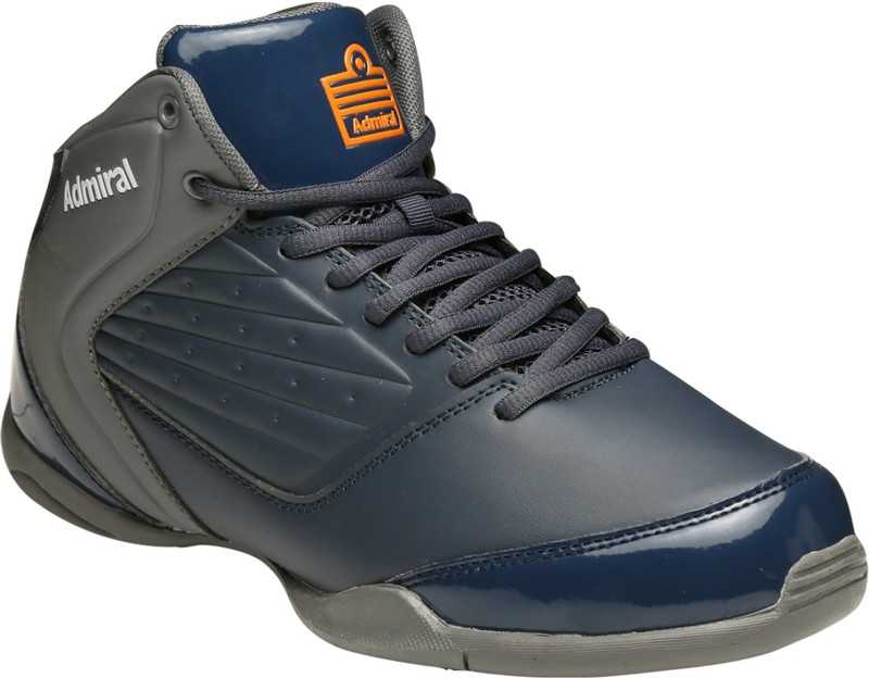 Admiral Gage Basketball Shoes For Men(Navy, Grey)