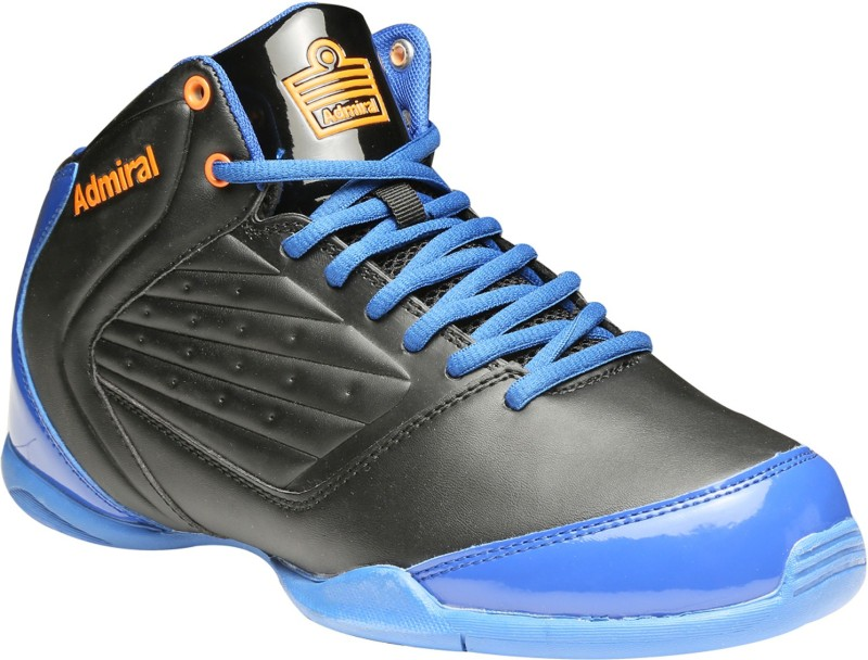 Admiral Gage Basketball Shoes For Men(Black, Blue)