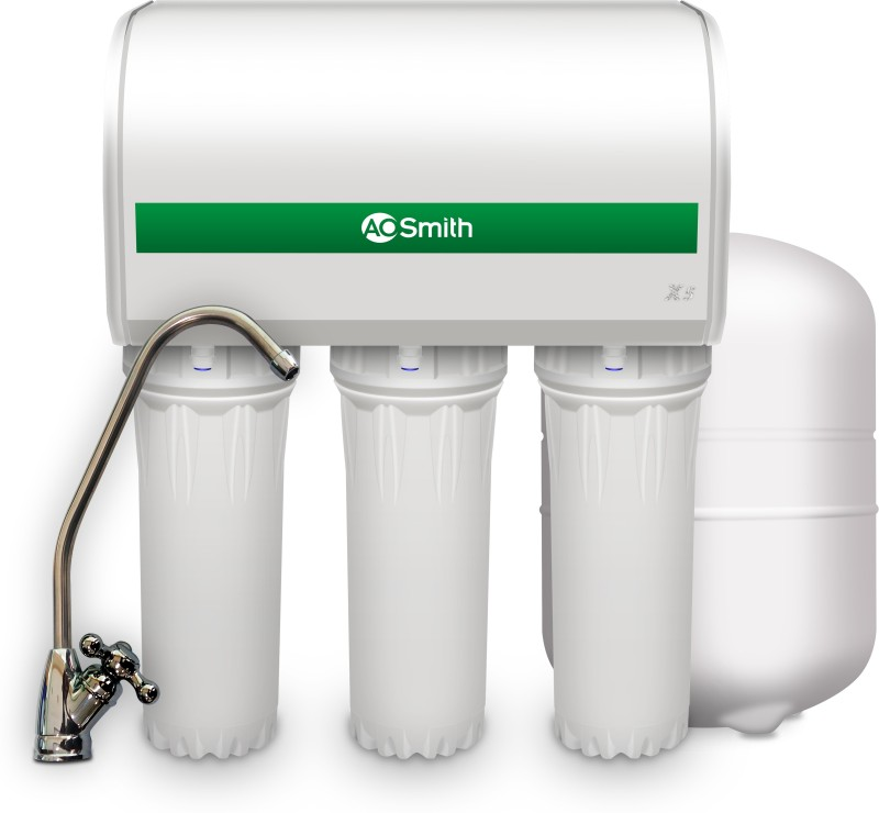 AO Smith X5 7.5 L RO Water Purifier(White)
