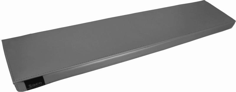 Saco Wrist Rest Palm Support Comfort Soft Microfibre Cloth Wrist Rest Wrist Rest(Silver)