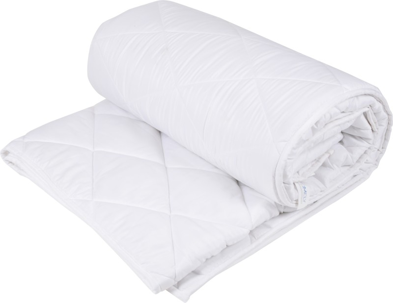 Homely Plain Double Quilt, Comforter White(1 Double Comforter)
