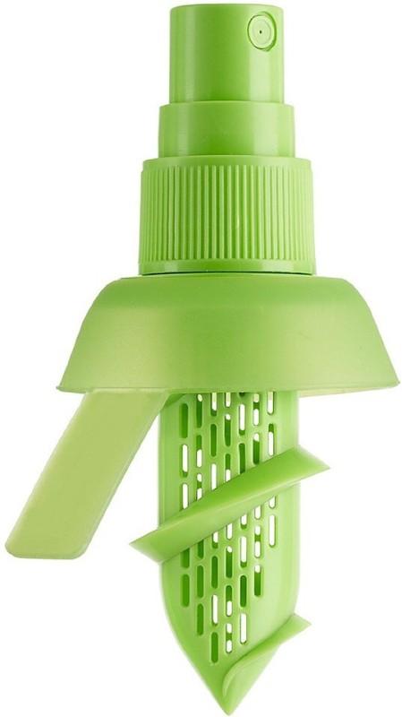 vepson Portable Travel Fruit Lemon Juice Sprayer Citrus Spray Plastic Hand Juicer(Green)