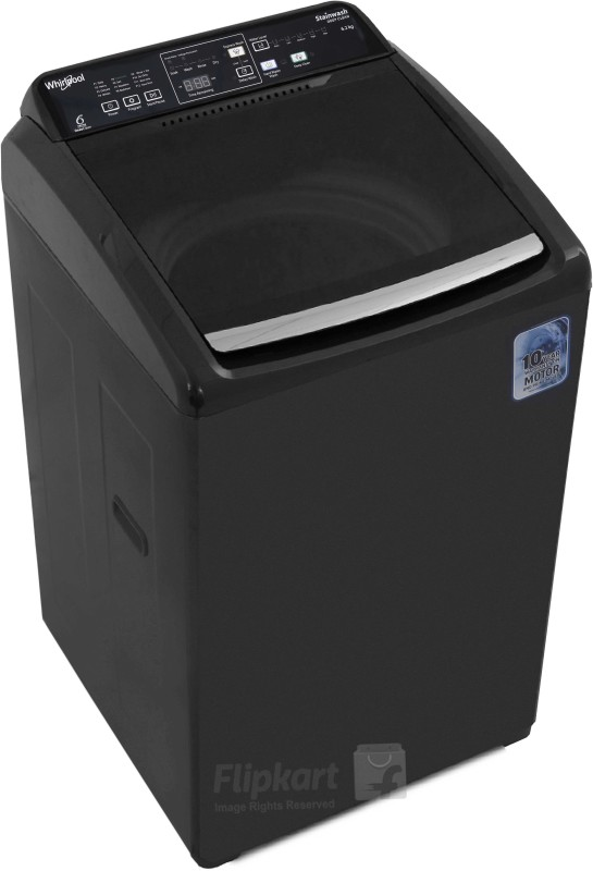 Whirlpool 6.2 kg Fully Automatic Top Load Washing Machine Grey(STAINWASH...