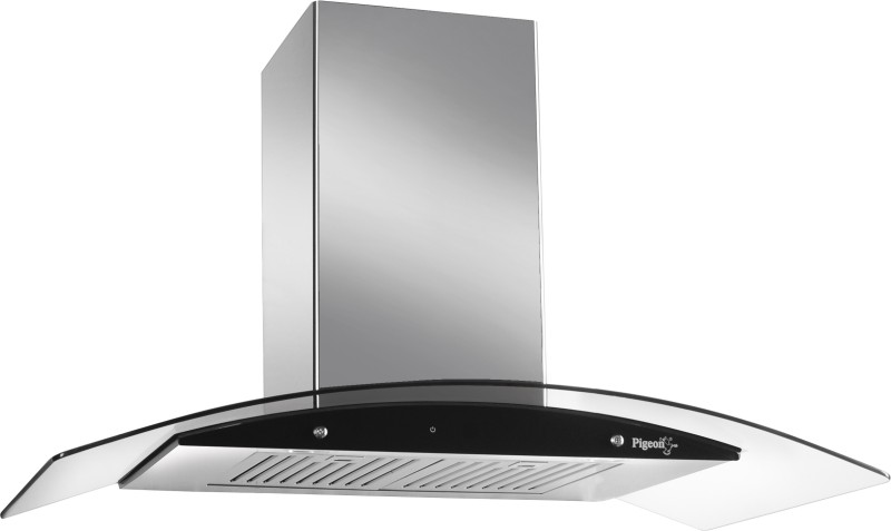 Pigeon 768 Wall Mounted Chimney(Silver 1020)