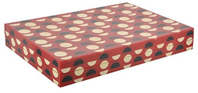 Vintageware Decorative Multi-Purpose Wooden Gift Box(Red)