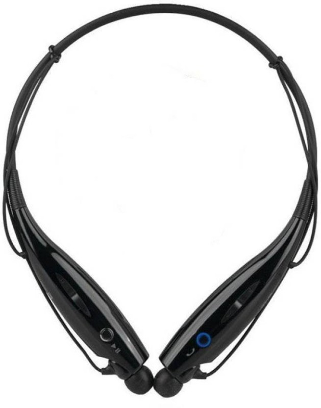 Defloc HBS 730 DFB19 Wireless bluetooth Headphone(Black, In the Ear)