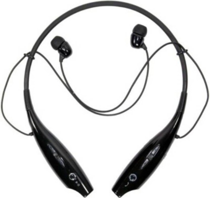 Defloc HBS 730 DFB9 Wireless bluetooth Headphone(Black, In the Ear)