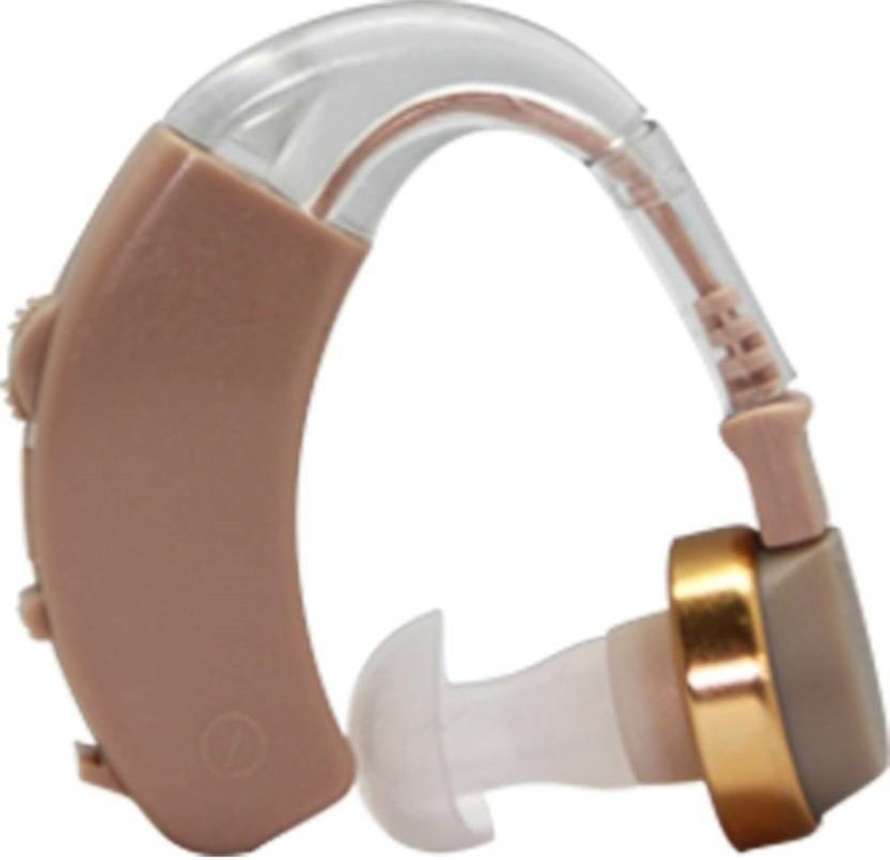 AXONs With 1 Year Warranty Superior Quality Sound  INTRX  Behind The Ear Hearing Aid(Beeige)