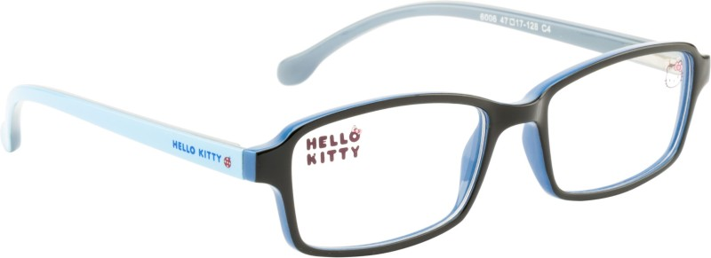Hello Kitty Full Rim Wayfarer Frame(47 mm)
