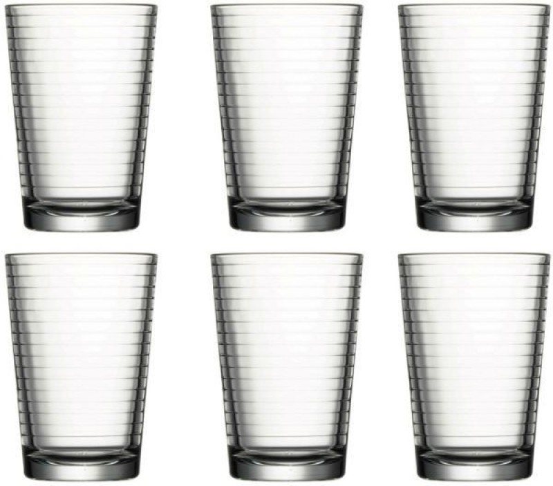 Pasabahce Glass Set(205 ml, Clear, Pack of 6)