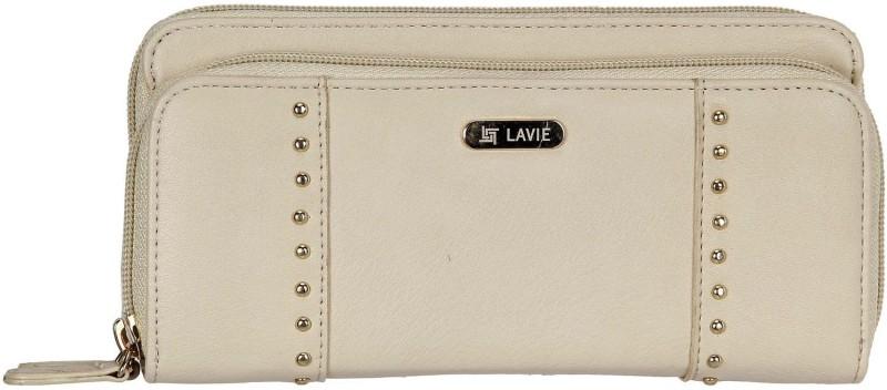 Lavie Women Brown Artificial Leather Wallet(6 Card Slots)
