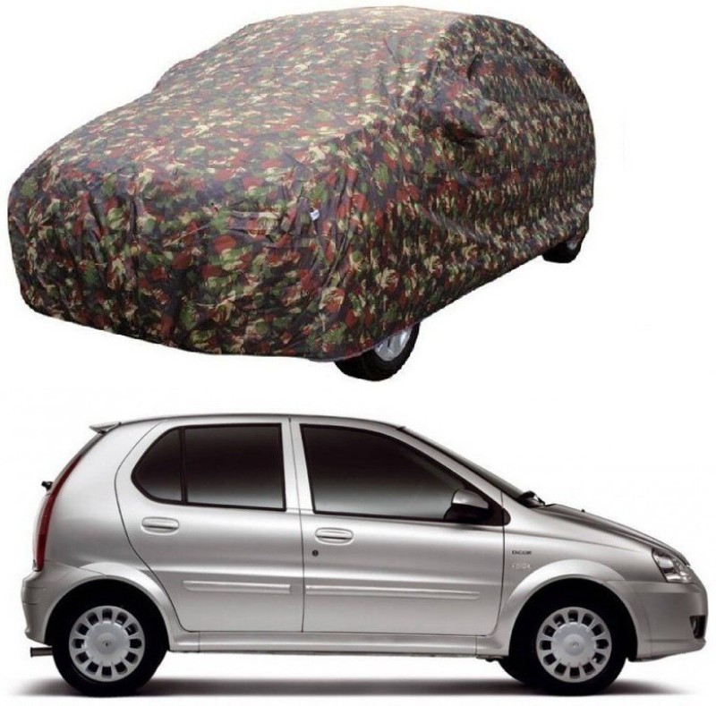 MotRoX Car Cover For Tata Indica (With Mirror Pockets)(Multicolor)