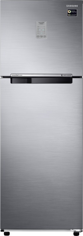 Samsung 321 L Frost Free Double Door Refrigerator(Refined Inox, RT34M3743S9/HL)