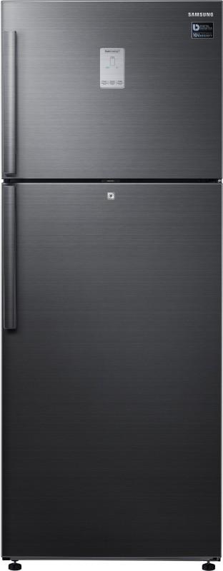 Samsung 478 L Frost Free Double Door Refrigerator(Black Inox, RT49K6338BS/TL)