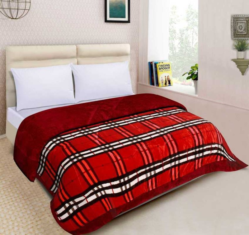 Spangle Abstract Double Quilts & Comforters(AC Blanket, 1 Quilt)