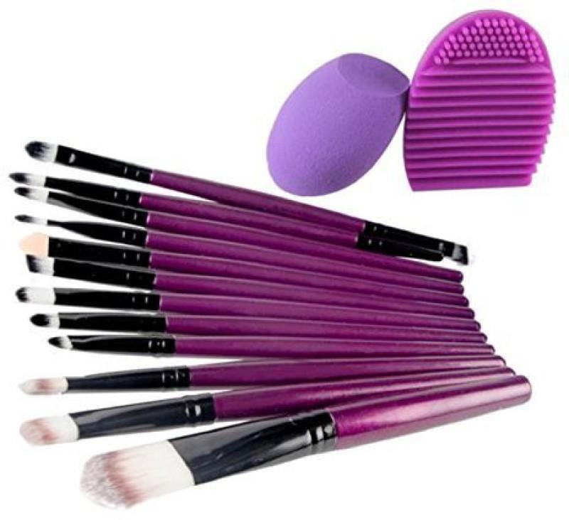 Abcsell Makeup Brush Makeup Sponge Makeup Brush Cleaner(Pack of 12)