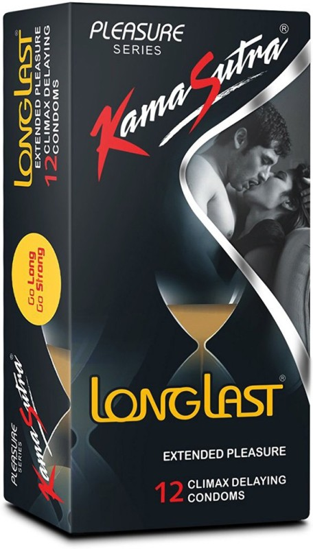 KamaSutra Long Last Condom(Set of 1, 12S)