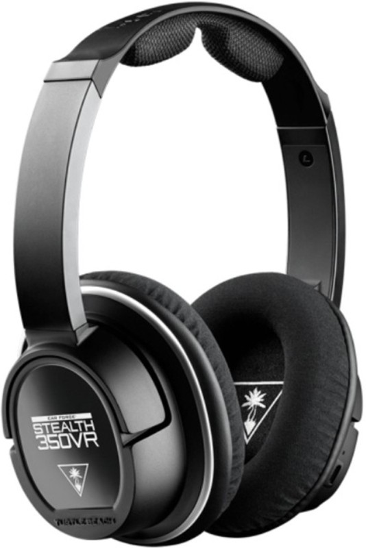 Turtle Beach Stealth 350VR Headset with Mic(Black, Over the Ear)