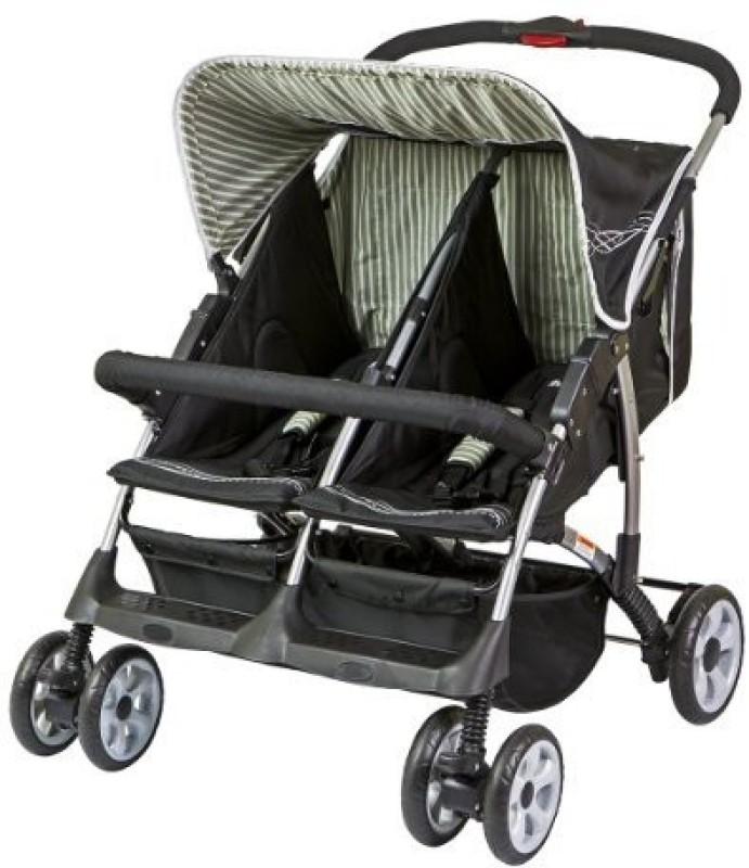 Dream On Me Duplex Stroller In(Multi, Black)