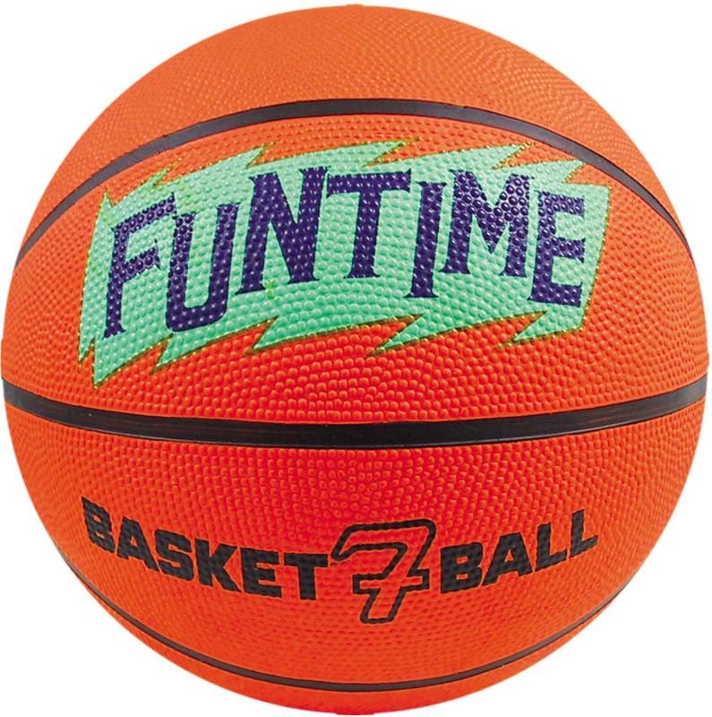 Cosco Funtime Men Basketball - Size: 7(Pack of 1, Orange)