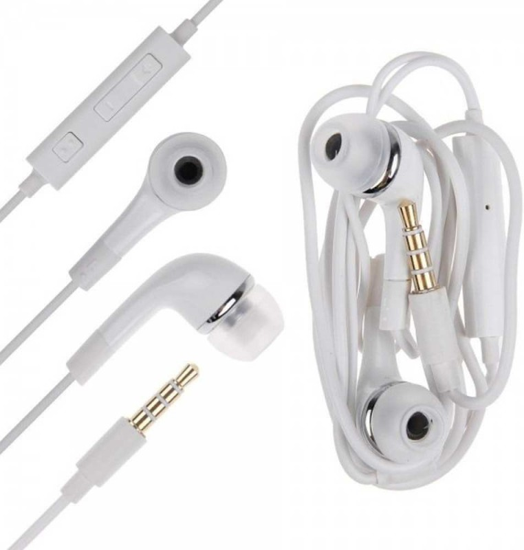 5PLUS 5PHF012 HANDFREE FOR ALL MOBILE PHONES 3.5mm Headset with Mic(Multicolor, In the Ear)