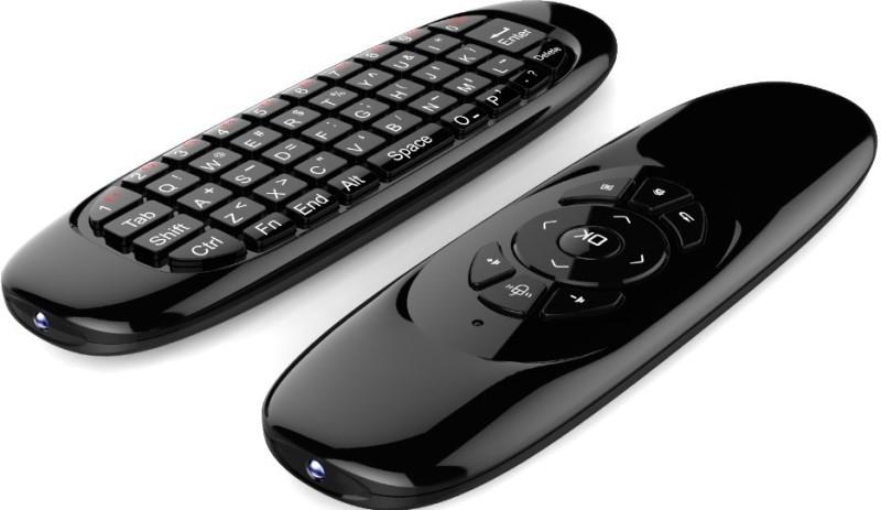 W2W AIR MOUSE C120 Wireless Multi-device Keyboard(Black) image
