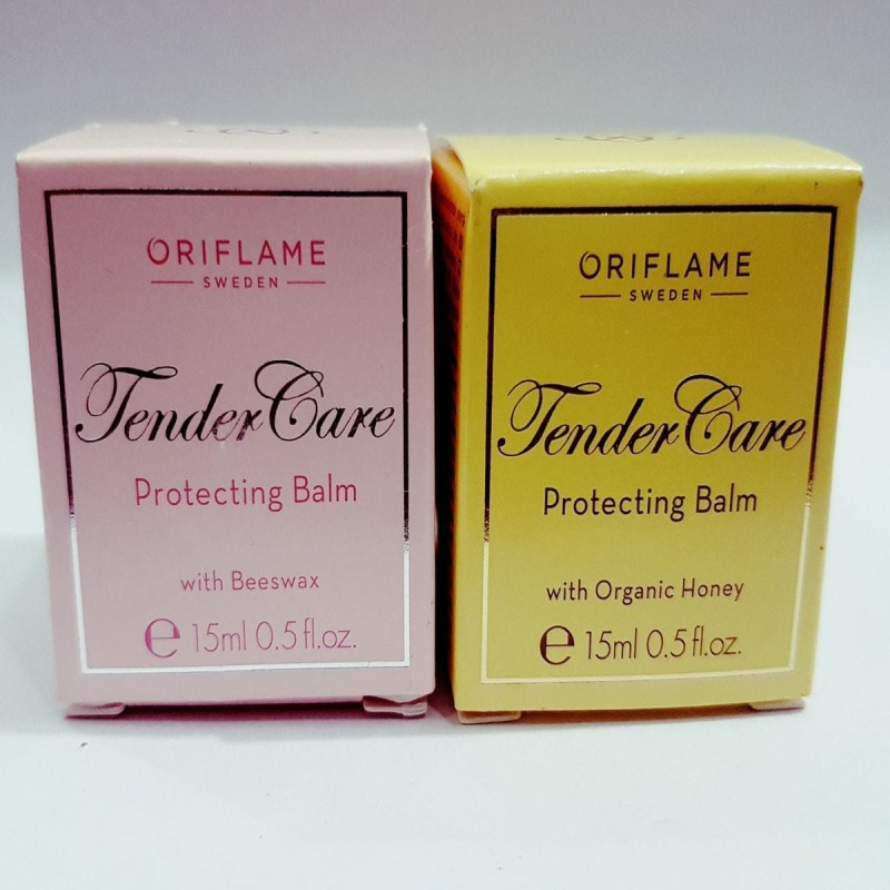 Oriflame Sweden TENDER CARE PROTECTING BALM COMBO OF BEESWAX & ORGANIC HONEY BEESWAX & ORGANIC HONEY(Pack of: 2, 26 g)