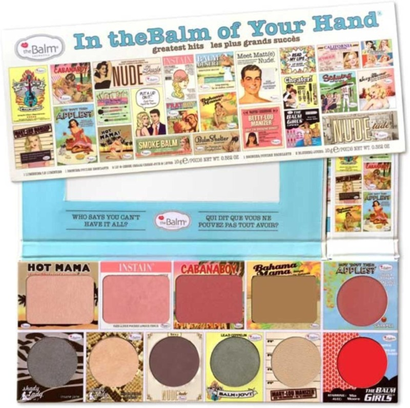 The Balm In The Balm Of Your Hand Face Palette