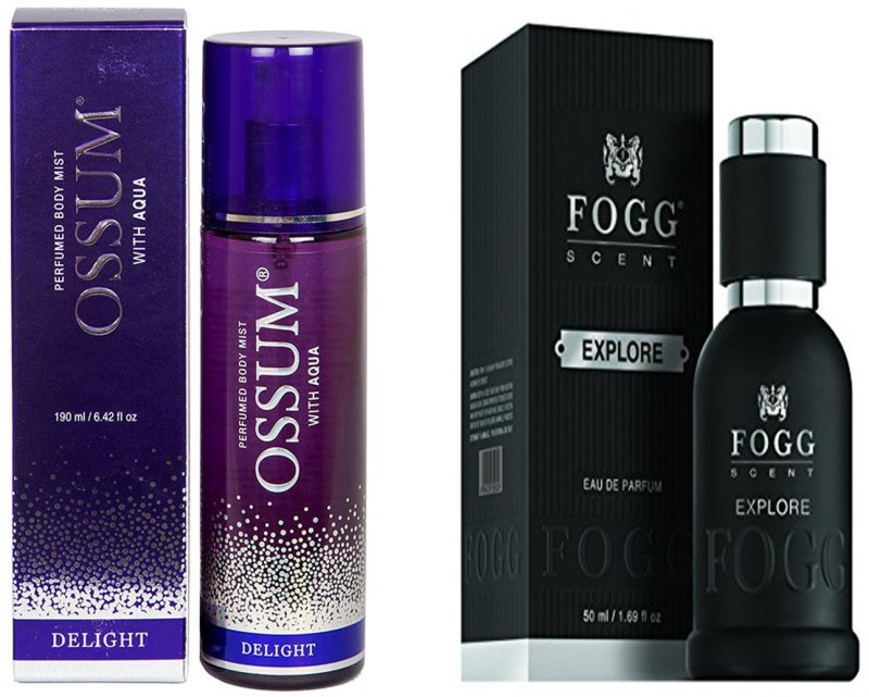 Fogg COMBO PACK Extrait De Parfum  -  50 ml(For Men & Women)