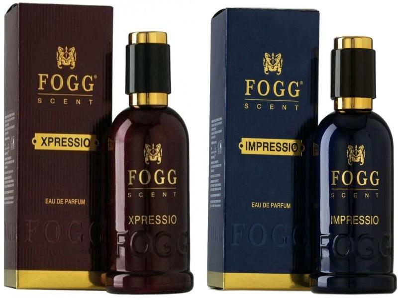 FOGG COMBO PACK OF FOGG XPRESSIO PERFUME 90 ML + FOGG IMPRESSIO PERFUME 90 ML Eau de Parfum - 90 ml(For Men & Women)