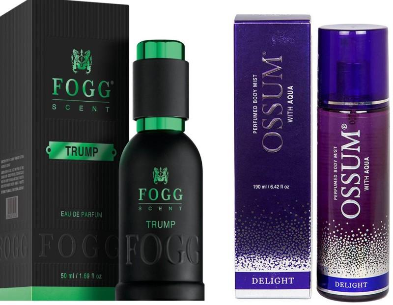 FOGG COMBO PACK Eau de Parfum - 50 ml(For Men & Women)