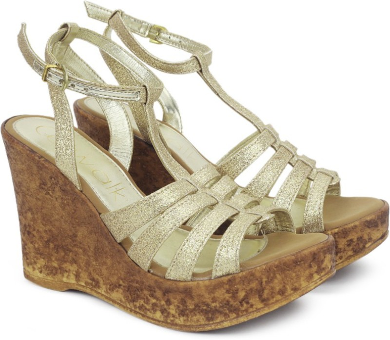 Catwalk Women GOLD Wedges