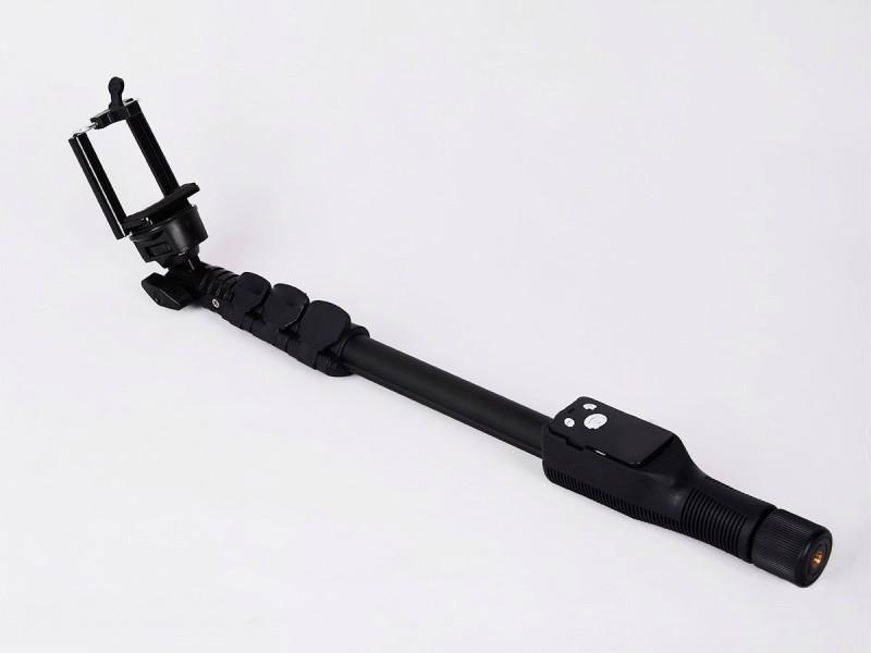 SAFEBUY Bluetooth Selfie Stick(Black, Remote Included)