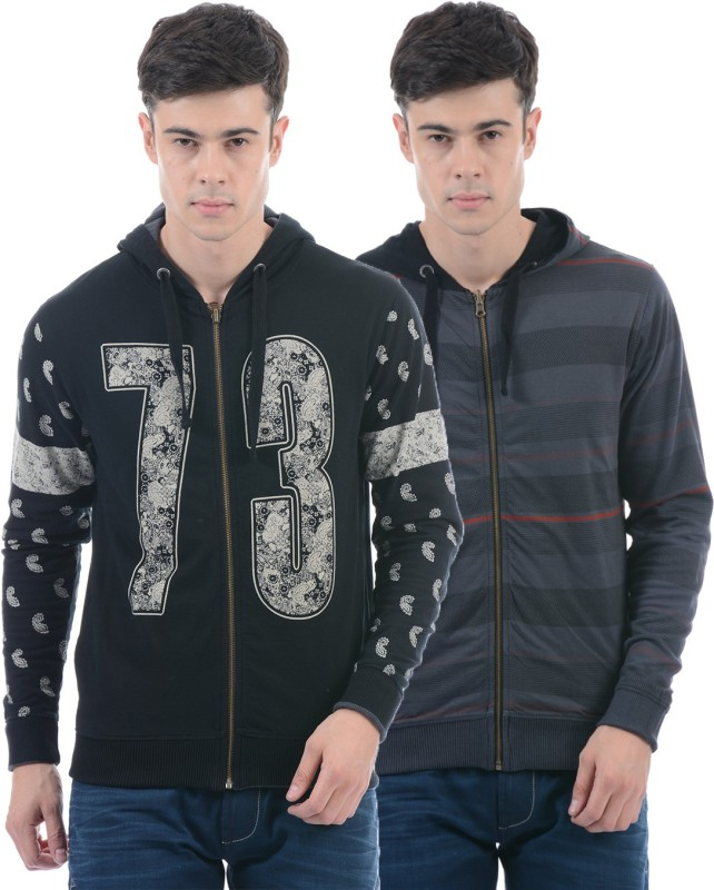 Pepe Jeans Full Sleeve Printed Men Reversible Sweatshirt