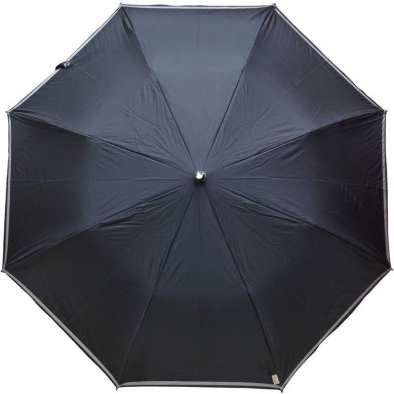 Stay Dry! 3 Fold Automatic Umbrella(Black) Image