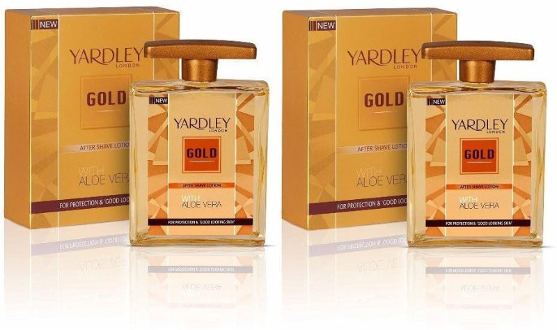 Yardley London Gold After Shave With Aloe Vera (Pack of 2)(100 ml)