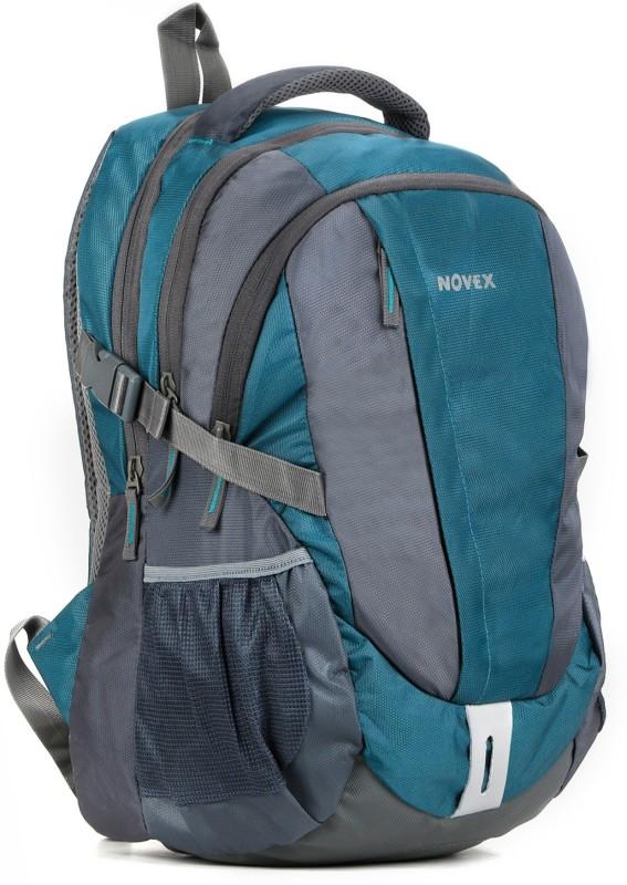 Novex Waterproof School Bag(Blue, 35 L)