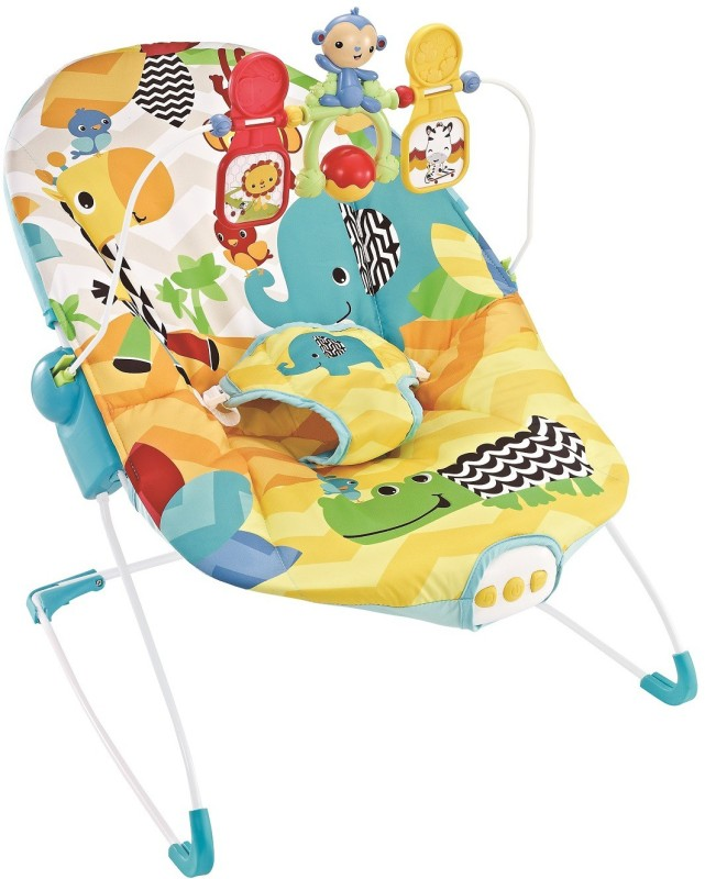 Fiddle Diddle Baby Bouncer Cum Rocker Rocker and Bouncer(Multicolor)