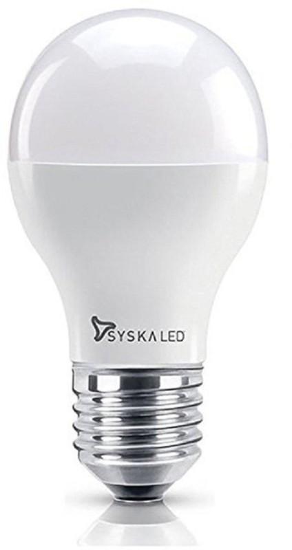 Syska 3 W Standard E27 LED Bulb(White)