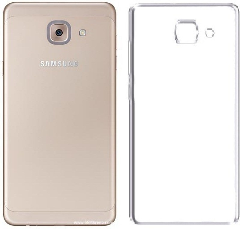 Cell-loid Back Cover for Samsung Galaxy J7 Max(Brat Transparent, Silicon, Plastic)